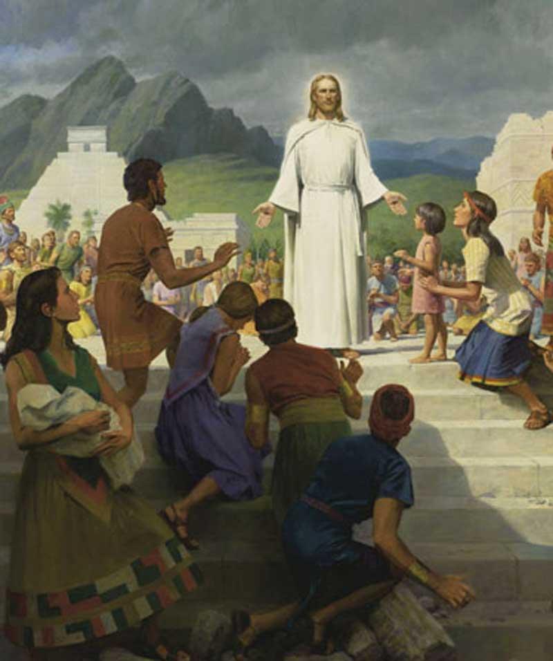 بازدید مسیح از آمریکا