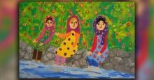 نقاشیهای کودکان ایرانی برنده مسابقه نقاشی محیط زیست ژاپن شد