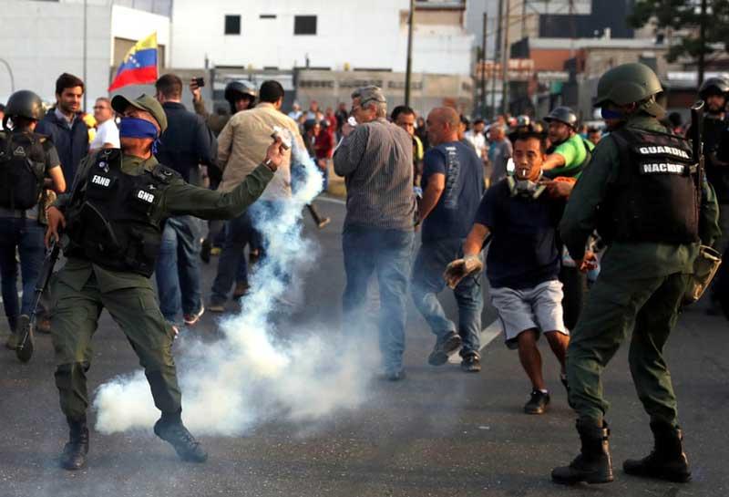 آشوب های ونزوئلا