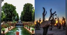 تحلیل هنری باغهای سنگی و شاهزاده ماهان