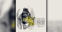 نمایشگاه آثار ساناز حائری در خانه هنرمندان ایران